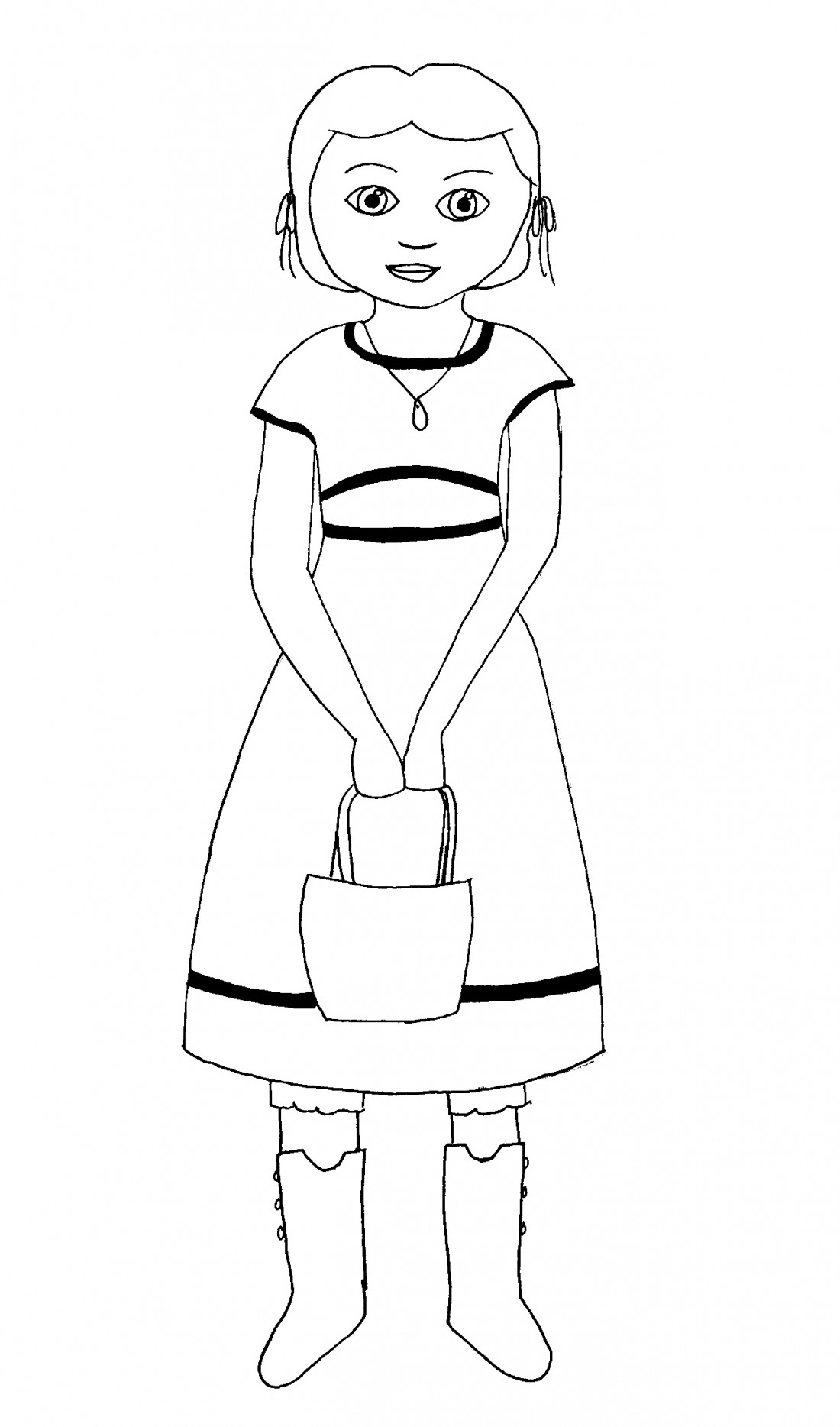 american doll coloring pages - american girl coloring pages beforever