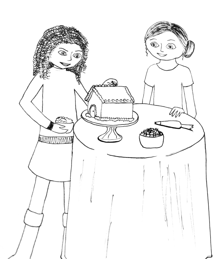 grace american girl coloring pages - photo#20