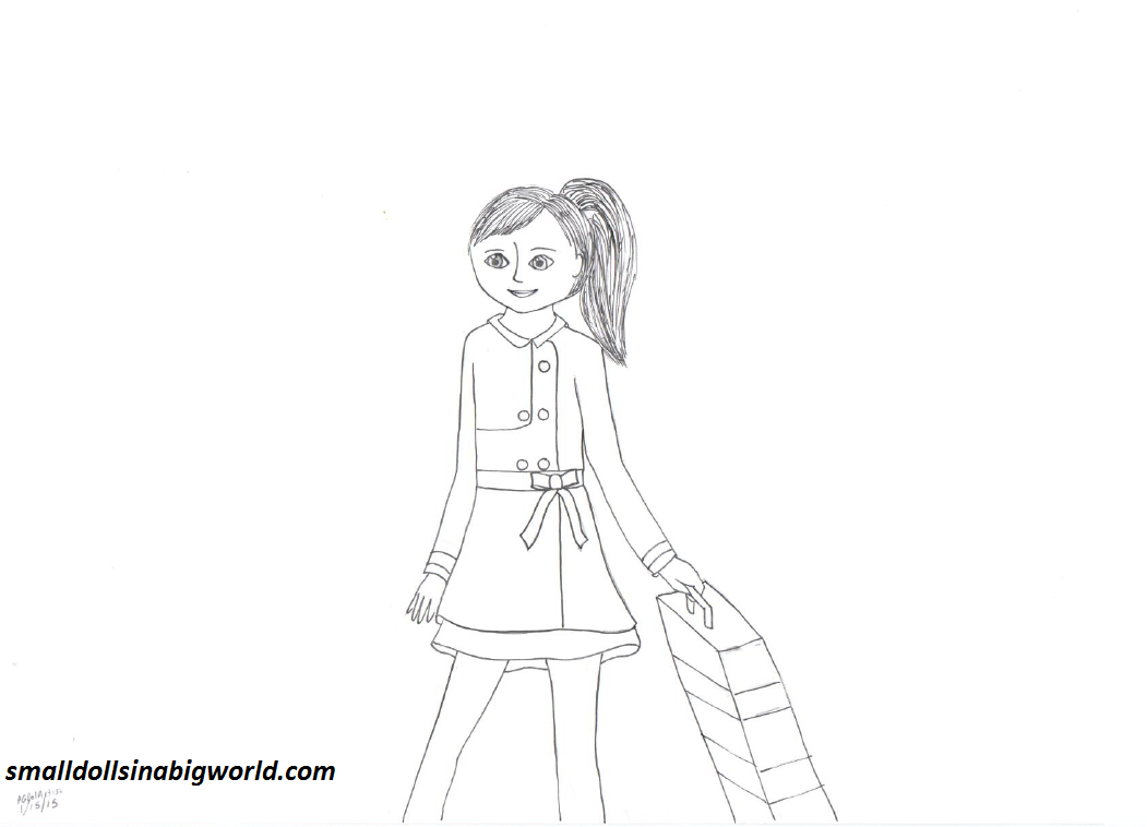 American girl pages to color - Similiar Grace American Girl Coloring Pages Keywords