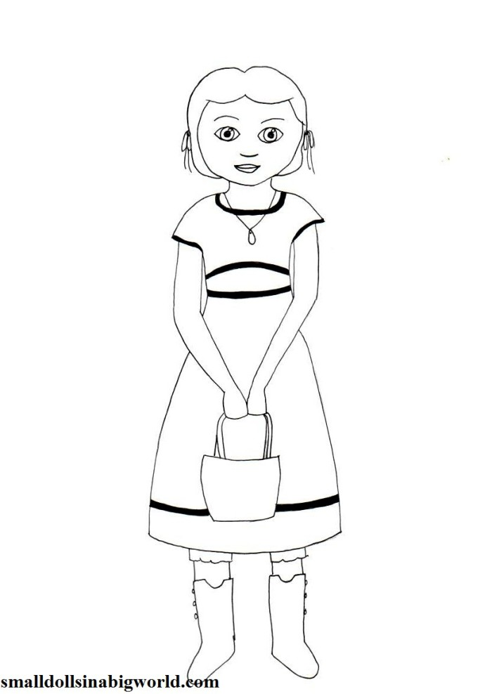caroline coloring pages - photo#6