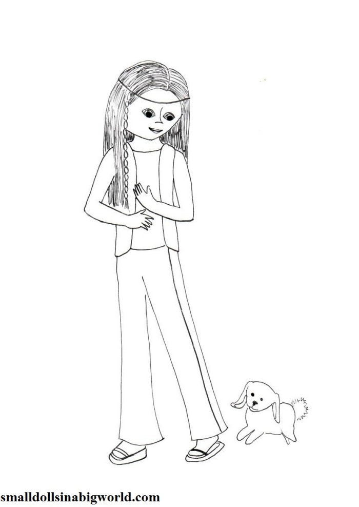caroline coloring pages - photo#24