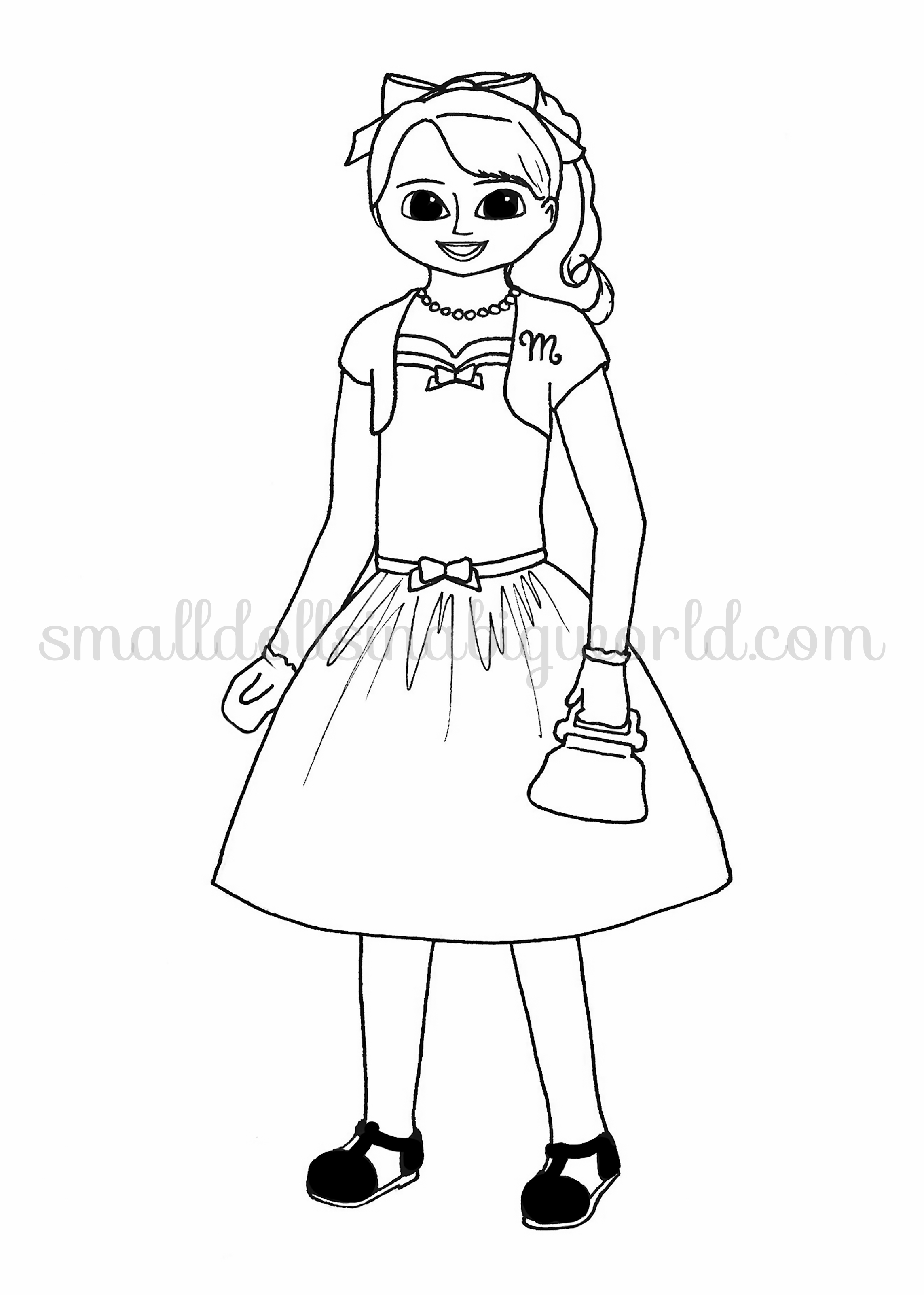 maplelea doll coloring pages alltoys for